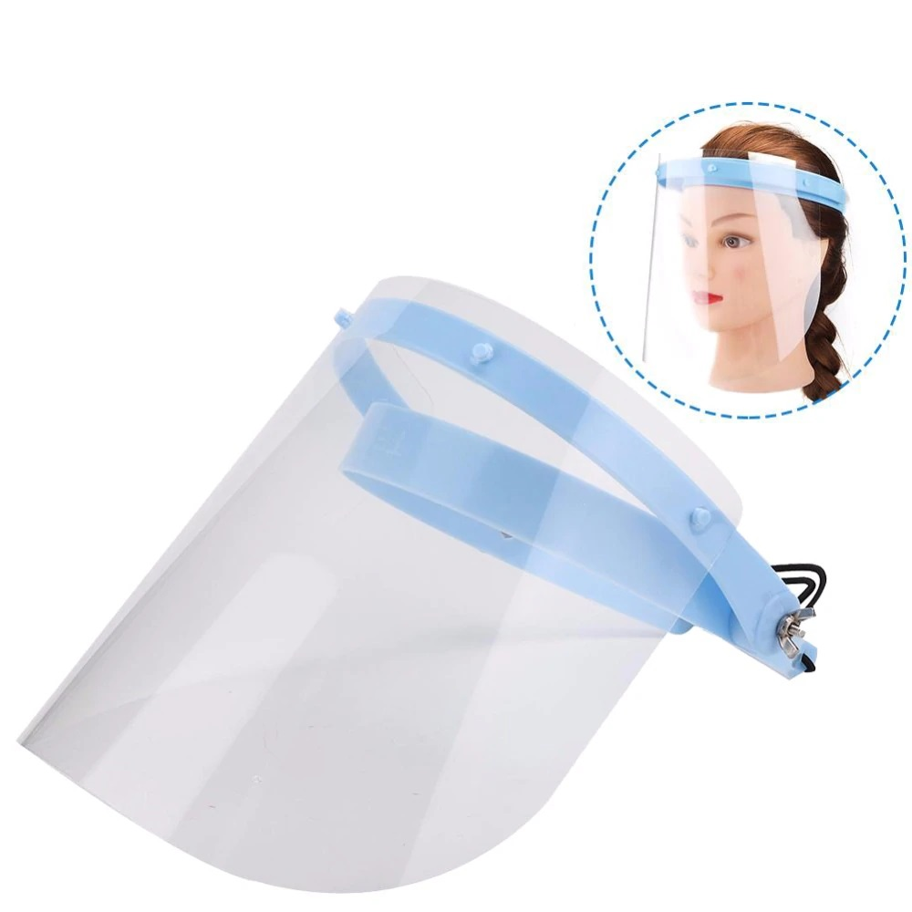 Fast Delivery Full-Face-Shield Protective Cover Safety Protection Visor Wind Proof Anti Droplet Dust-proof Stop The Flying Spit