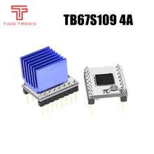 MKS TB67S109 S109 peças de apoio 1/32 microsteps Stepper motor driver StepStick Impressora 3D e max atual 3.3A 4A