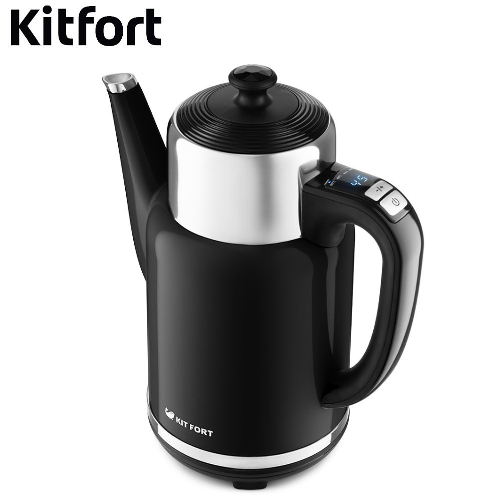 Electric kettle Kitfort КТ-668 Kettle Electric Electric kettles home kitchen appliances kettle make tea Thermo