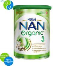 НАН 3 Органик напиток молочный сухой детское молочко 400г