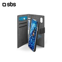 SBS case for iPhone X phone, Black (tebookduoipxk)