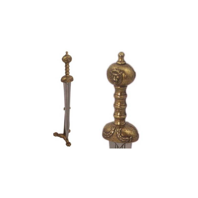 Letter Opener With Support Gladiator's Sword (24cm)
