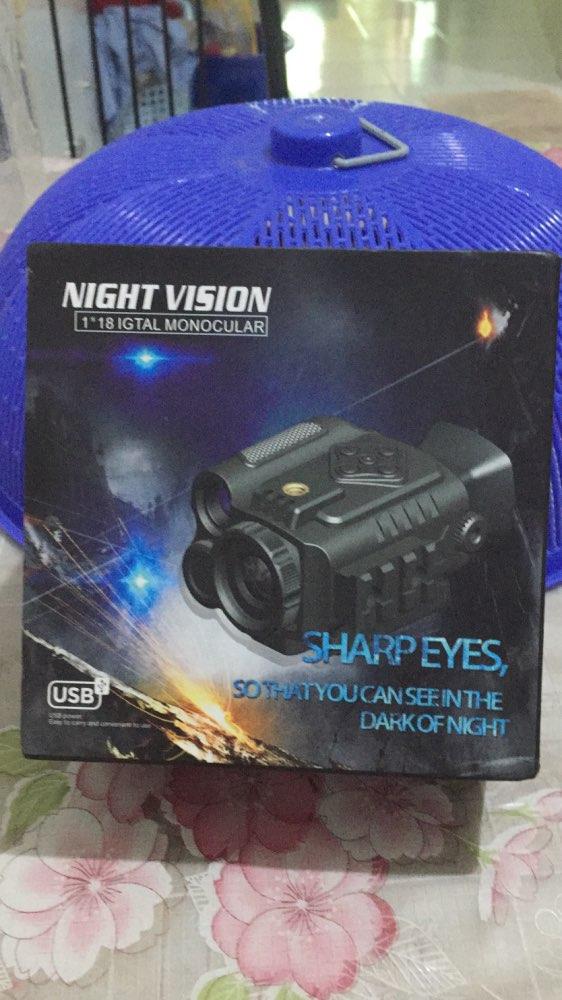 Visões noturnas digital vision monocular