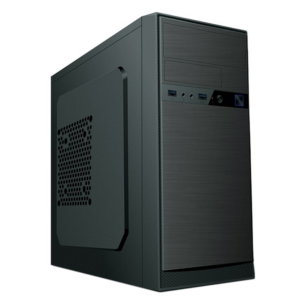 Desktop PC Iggual M500 I3-8100 8 GB RAM 120 GB SSD Black
