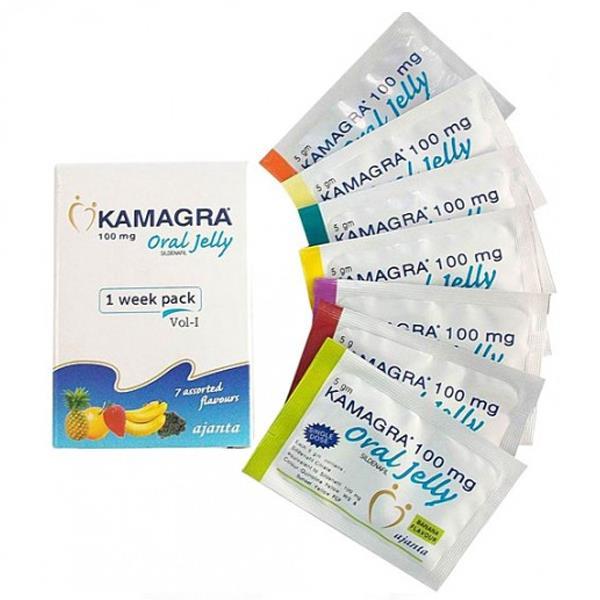 Bolsita de hierbas afrodisiaca de miel KAMAGRA JEL de buen rendimiento 5gr * 7 piezas