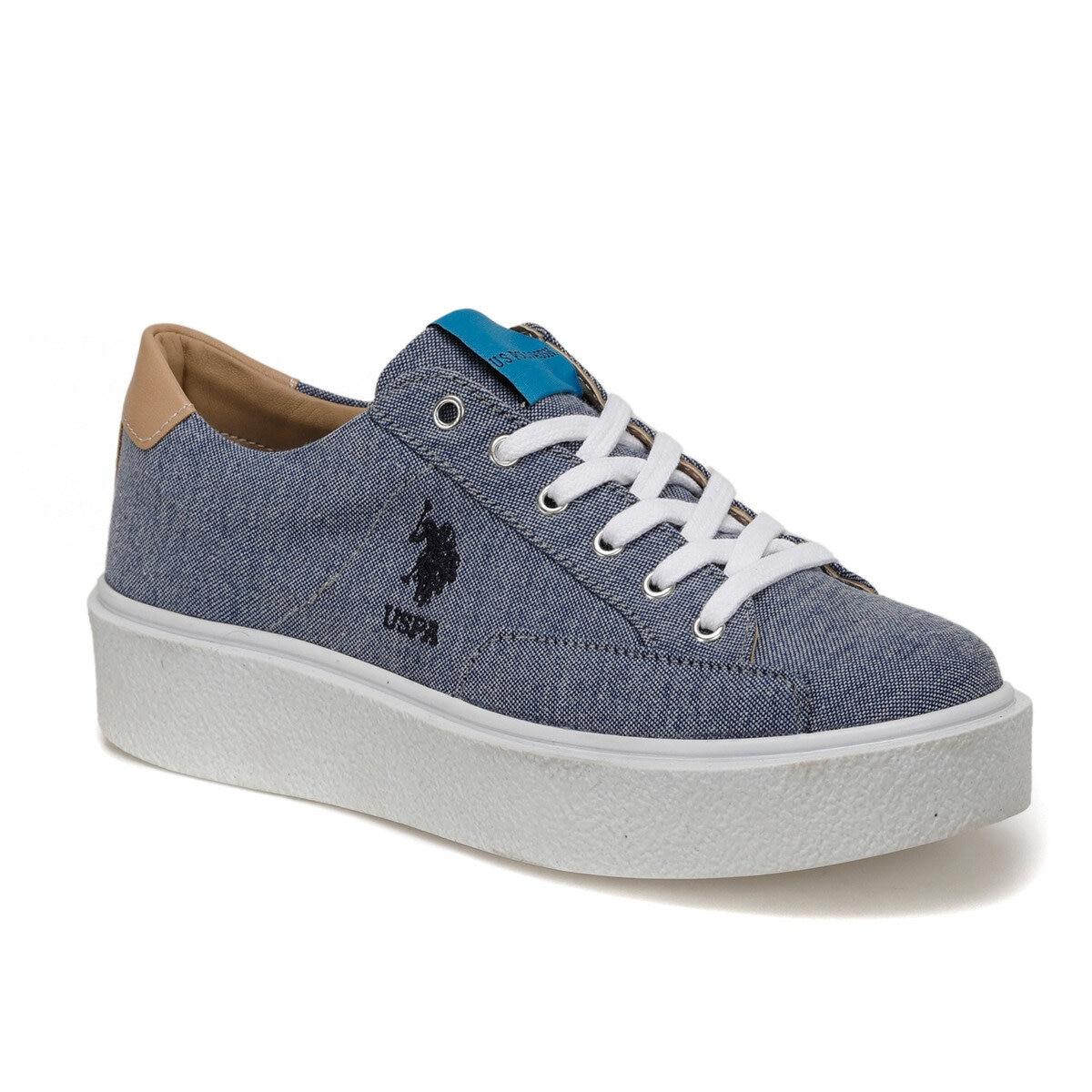 FLO/синие женские кроссовки; 2020; Модная дышащая Вулканизированная обувь; Женская обувь на платформе; Женская повседневная обувь на шнуровке; U.S. POLO ASSN. MARIQ Кроссовки и кеды      АлиЭкспресс