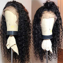 Deep Wave Curly Human Hair Wig 13*4 Lace front Human Hair Wigs Brazilian Hair Lace Wigs For Women Human Hair Wigs