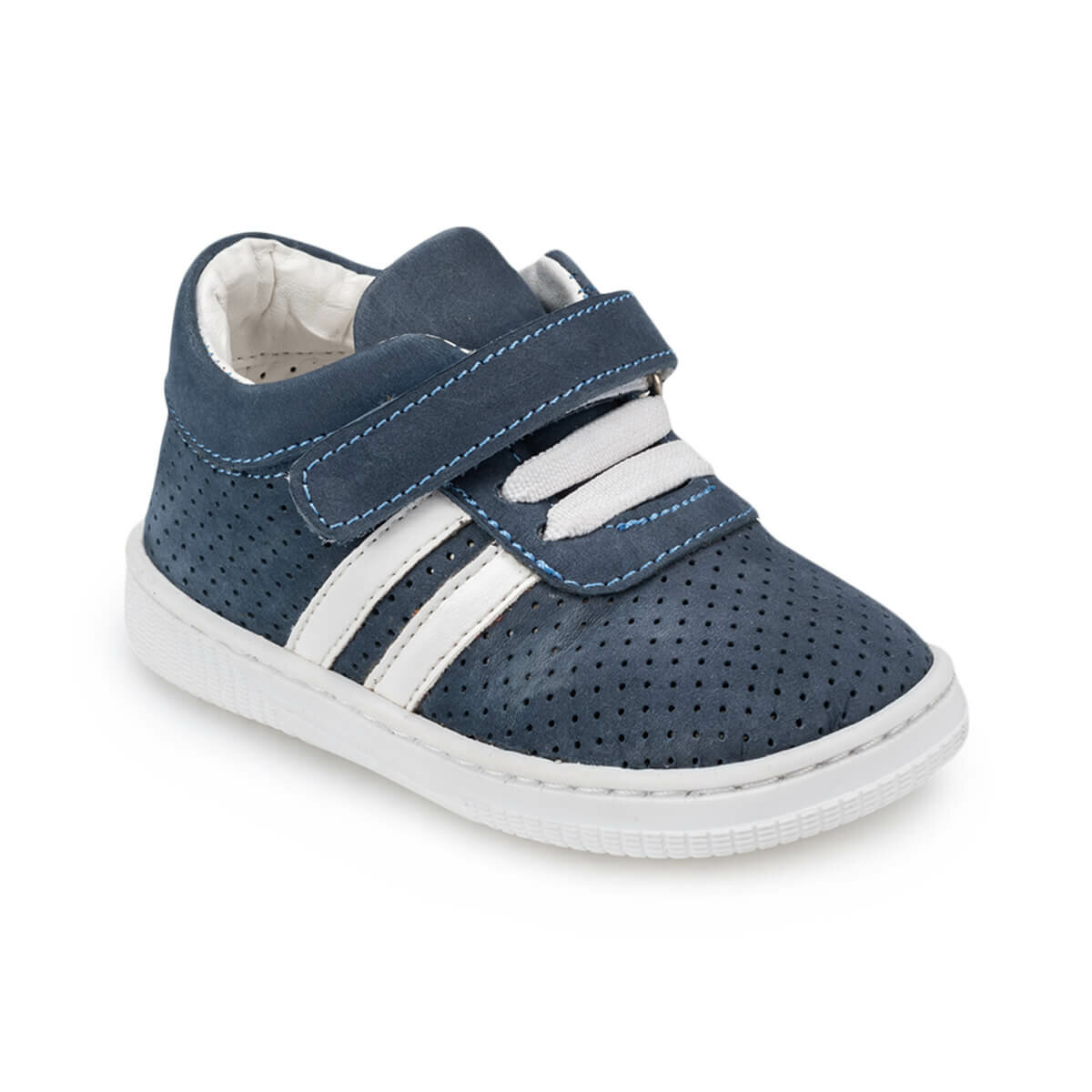 FLO 91. 511080.I Navy Blue Male Child Sneaker Shoes Polaris