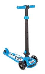Scooter Pilsan para niños, adecuado para 4 años y más, ligero y portátil, sistema de dirección plegable, rosa, seguro, Doble
