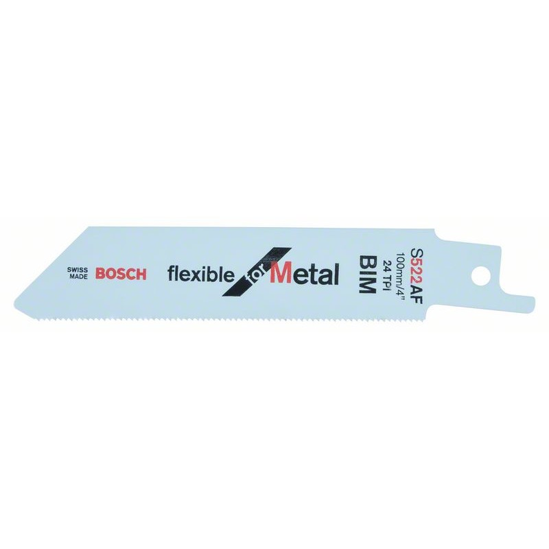 BOSCH-saw Blade Sable S 522 AF Bendable For Metal