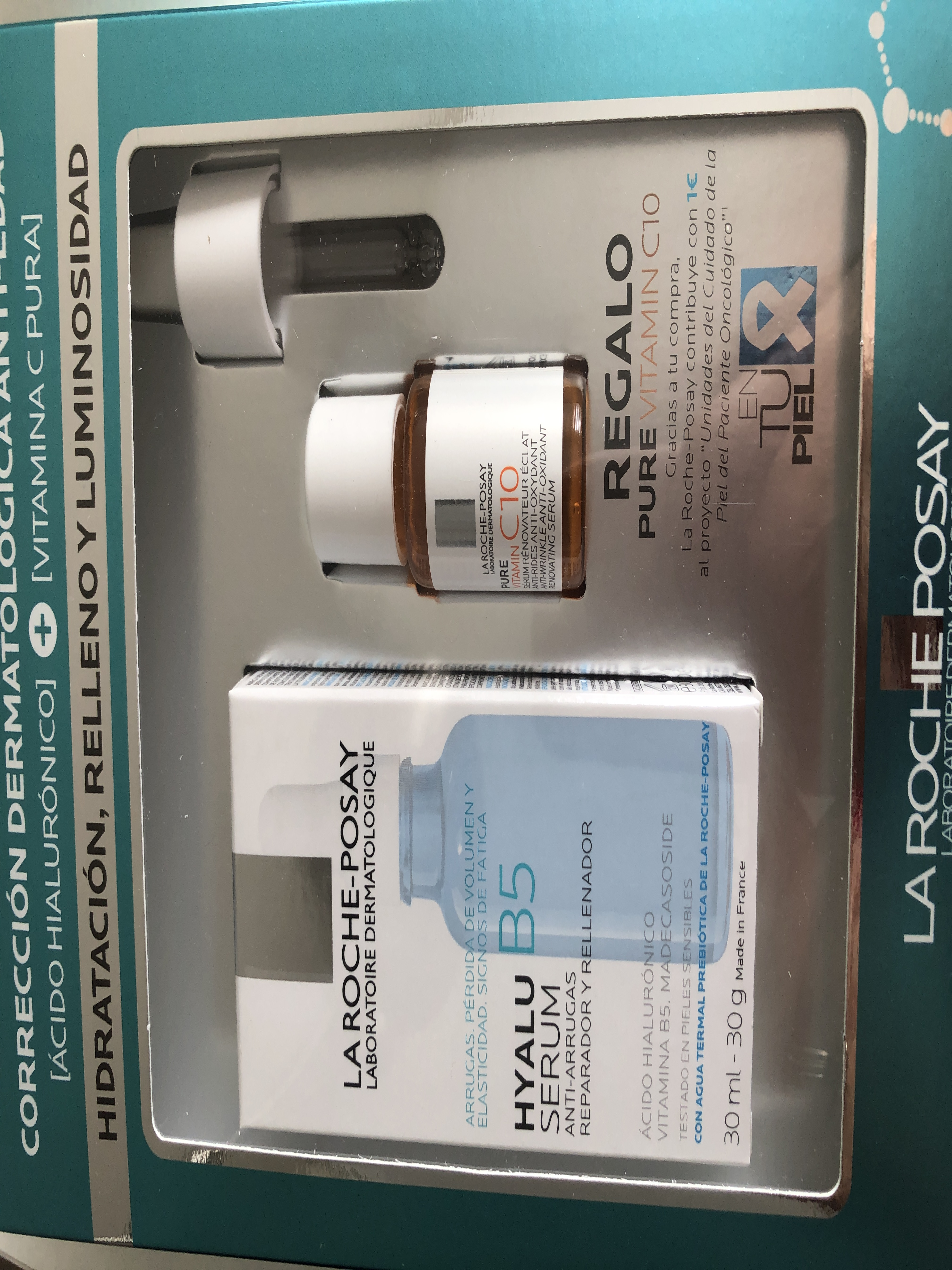 La Roche Posay Hyalu B5 Serum Pack Gift Vit C Serum Aliexpress
