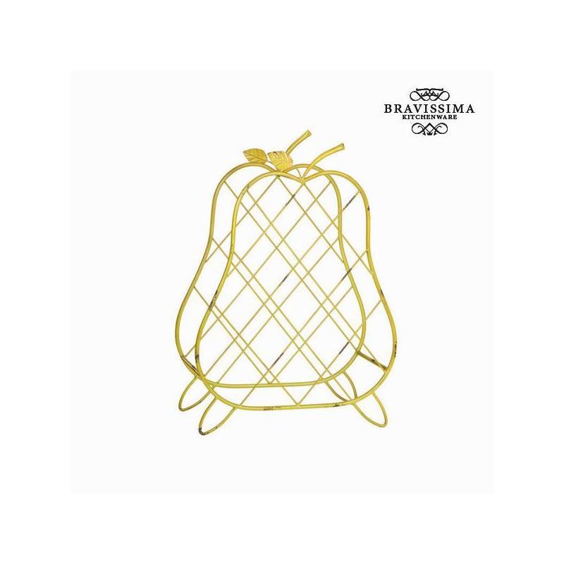 Wine Rack (58x42x18 cm) by Bravissima Kitchen Bottles Jars & Boxes     - title=