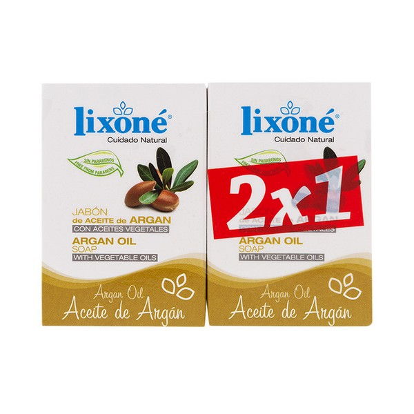 Soap Set Argan Oil Lixoné (2 Pcs)