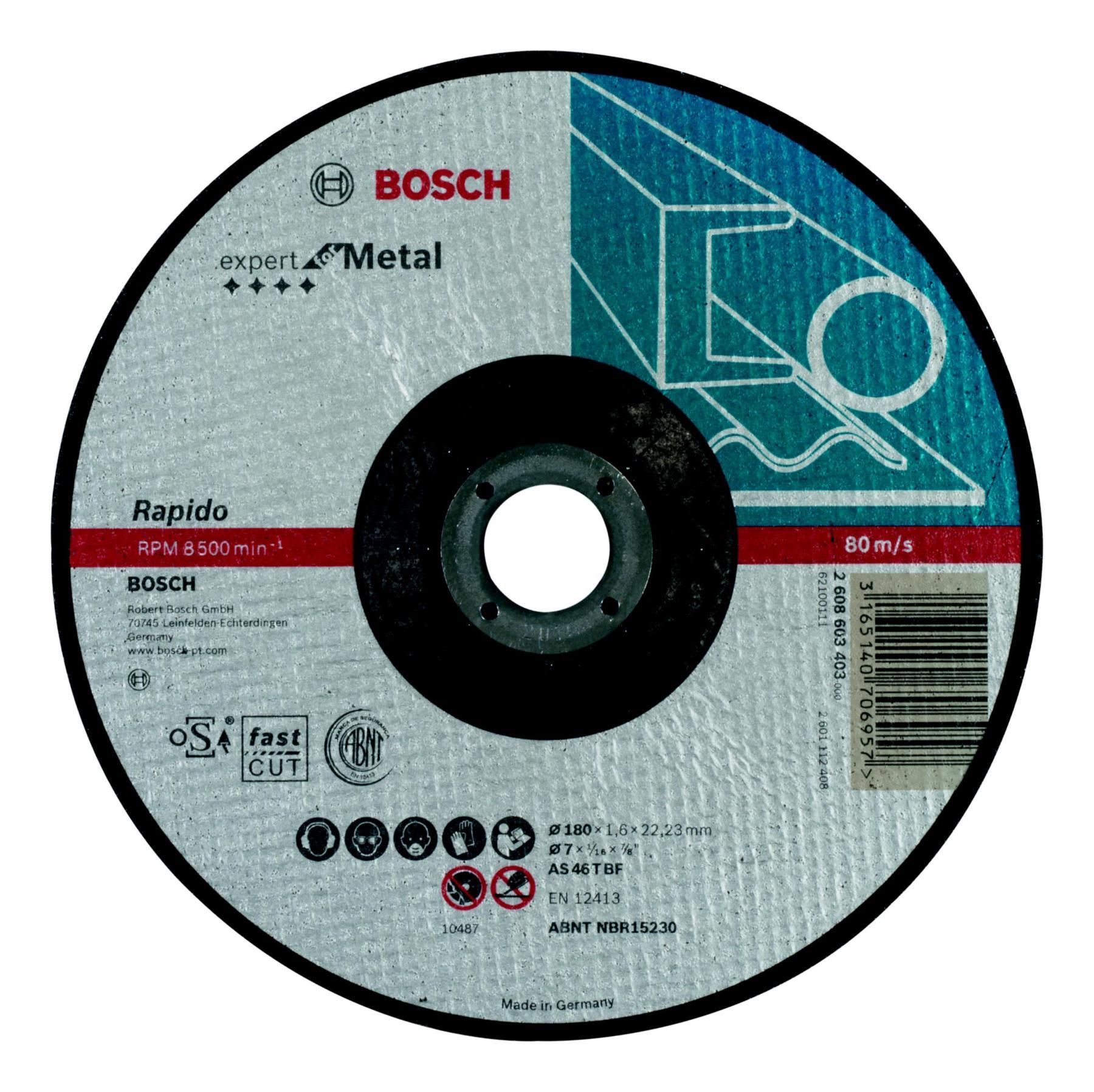 Circle Cutting BOSCH 230х1. 9х22 Expert For Metal Rapido (2.608.603.404)