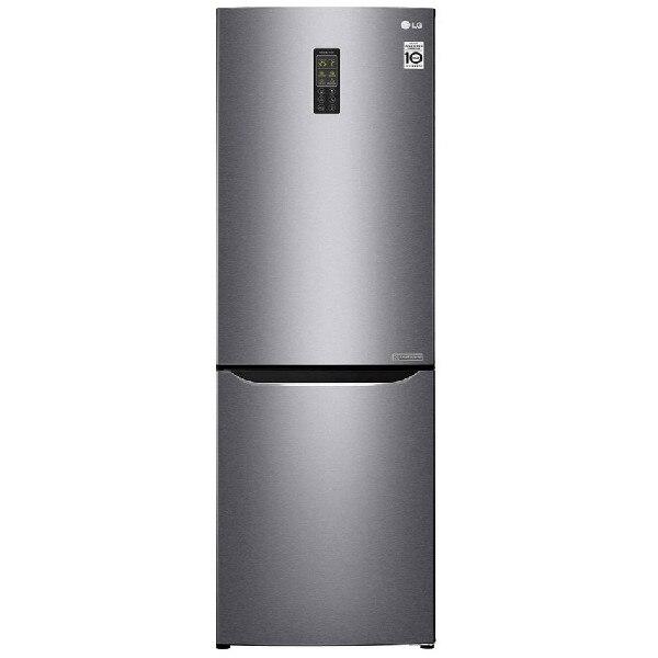 Двухкамерный холодильник LG GA-B 379 SLUL Темный графит