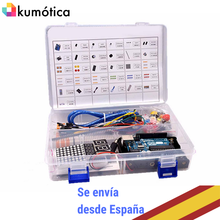Arduino R3 basic learning Kit, ideal for starting programming with mutiple sensors. Educational Robotics.