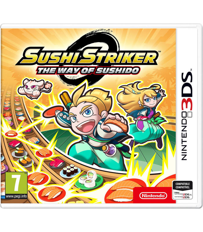 Sushi Striker: The Way of Sushido 3Ds Nintendo 3Ds Games Arcade Age 7 +|Game Deals| |  - title=
