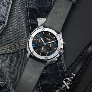 Image 4 - DOM Watch Men Fashion Sport Quartz Clock Mens Watches Top Brand Luxury Business Waterproof Watch Relogio Masculino M 1229L 1M2