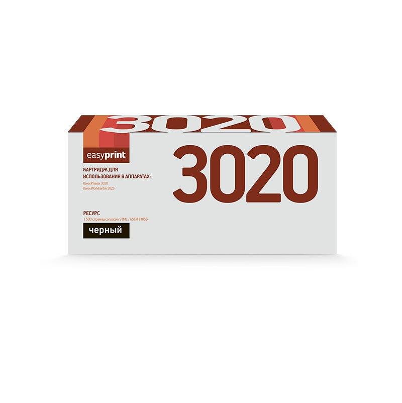 Cartridge EasyPrint LX-3020 Xerox 106R02773 Black, Xerox Phaser 3020 WorkCentre 3025