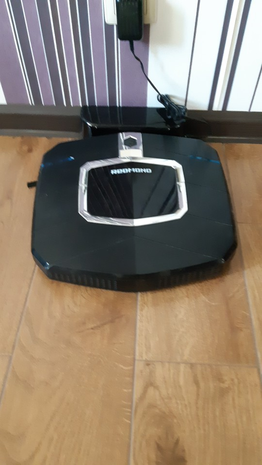 Robot vacuum cleaner REDMOND RV R250 cordless wireless household appliances for home|Vacuum Cleaners|   - AliExpress