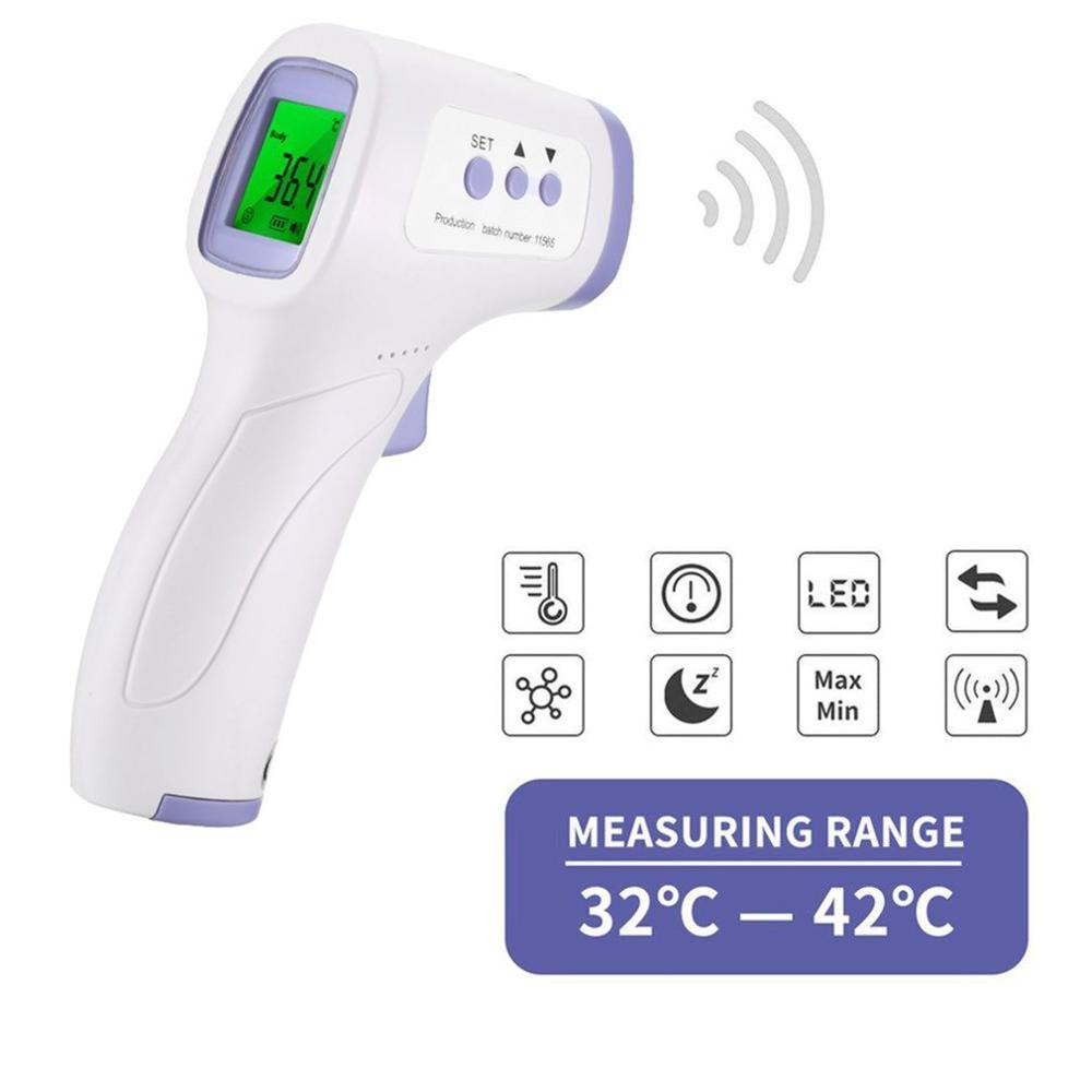 Бесконтактный инфракрасный термометр, ручной инфракрасный термометр, высокая точность измерения температуры тела