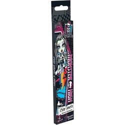 Цветные карандаши Monster High 6 шт