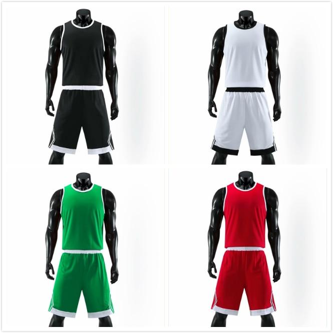 Personalize a Camiseta de Basquete + Shorts Logotipo da Equipe Número de Nome Conjunto Bordado Ponto Costurado Adulto Juventude Crianças Camisas Esportivas Uniformes