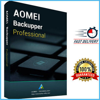 AOMEI Backupper Professional Full Version   Lifetime Activation  