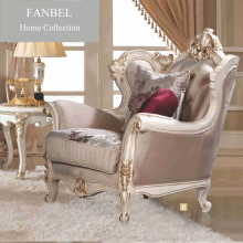 FANBEL furniture single sofa classic frame wood