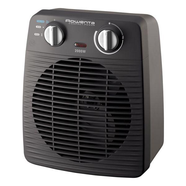 Portable Fan Heater Rowenta SO2210 2000W Black