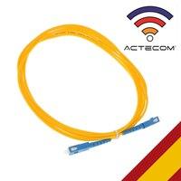 ACTECOM 케이블 Fibra óptica 2.5 metros Parche 케이블 Fibra optica SC a SC SingleMode Conector Optico INFORMATICA PC