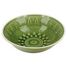 Глубокая тарелка натуральная(18X18x6 см