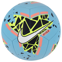 Nike SC3807-486 Pitch 5 No Futbol Ball for 12 years and over into soft ground suitable soccer ball sports training match ball