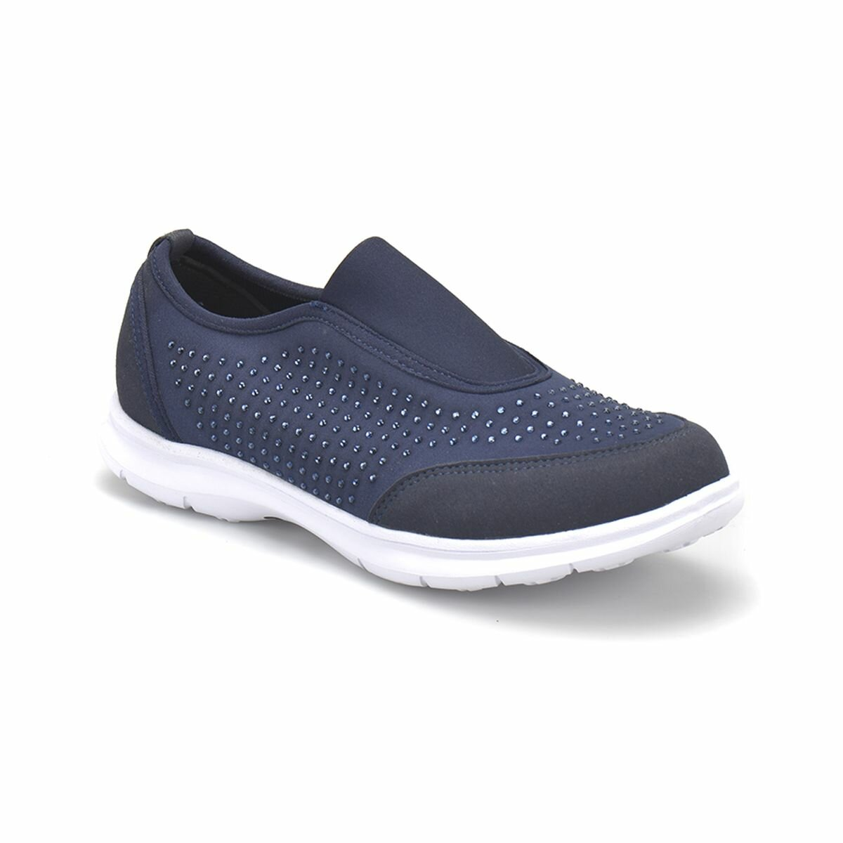 FLO CS18116 Navy Blue Women 'S Slip On Shoes BUTIGO
