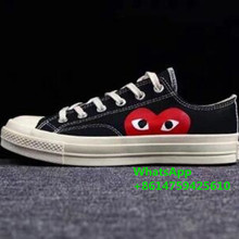 20-21 top CDG x Converse Chuck 1970 all star set for men and women daily leisure canvas flats shoes