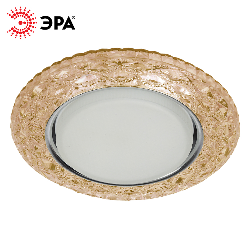 DK LD24 CHP/WH Downlight ERA decor with LED backlight Gx53, Champagne