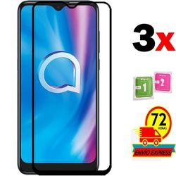 На Алиэкспресс купить стекло для смартфона 3x tempered glass screen protectors for for alcatel 1s 2020 full screen lcd