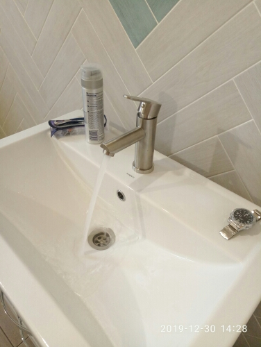 FRAP stainless steel basin mixer F10801-in Basin Faucets from Home Improvement on AliExpress