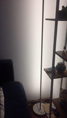 -- Lâmpadas alumínio Branco