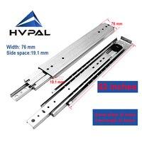 HVPAL 1300 mm 52 inches full extension 227 kg heavy duty industrial drawer slides rails telescopic drawer runner for the drawer