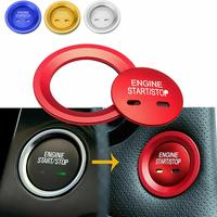 Engine Push Start Button Cover & Ring For Cadillac Chevy GMC Tahoe Malibu free shipping|Starter Parts|Automobiles & Motorcycles -