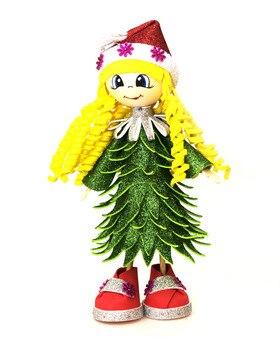 Set for creativity girl-Christmas tree magic workshop k015