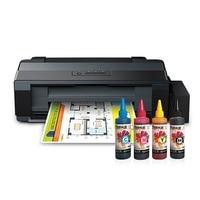 Epson L1300 ITS COATED 4 Color Ending Catridges A3 + Printer