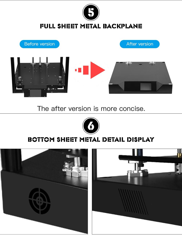 3D Printer CoreXY Sapphire Pro Printer BMG Extruder