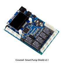Elecrow Smart Pumpe Schild Bord Elektronische DIY Automatische Smart Pflanze Bewässerung für Arduino Kapazitive Boden Feuchtigkeit Sensor