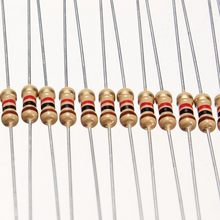50 резисторы 5,1 ком 5K1 1% 1/4w 0,25w