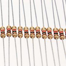 50 резисторы 1 кОм 5% 1/4w 0,25w
