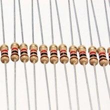 50 резисторы 2,2 кОм 2K2 Ом 5% 1/4w 0,25w