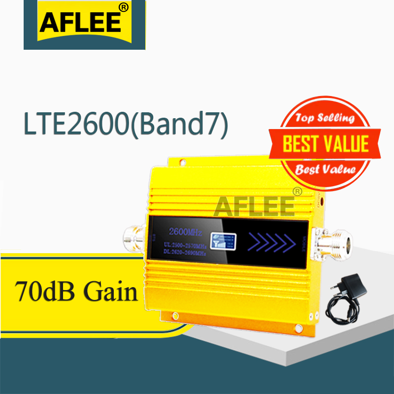 1PCS  LTE 2600Mhz 4G Cellular Amplifier B7 FDD LTE 2600mhz 4G Network  Mobile Signal Booster 4G CellPhone Signal Repeater