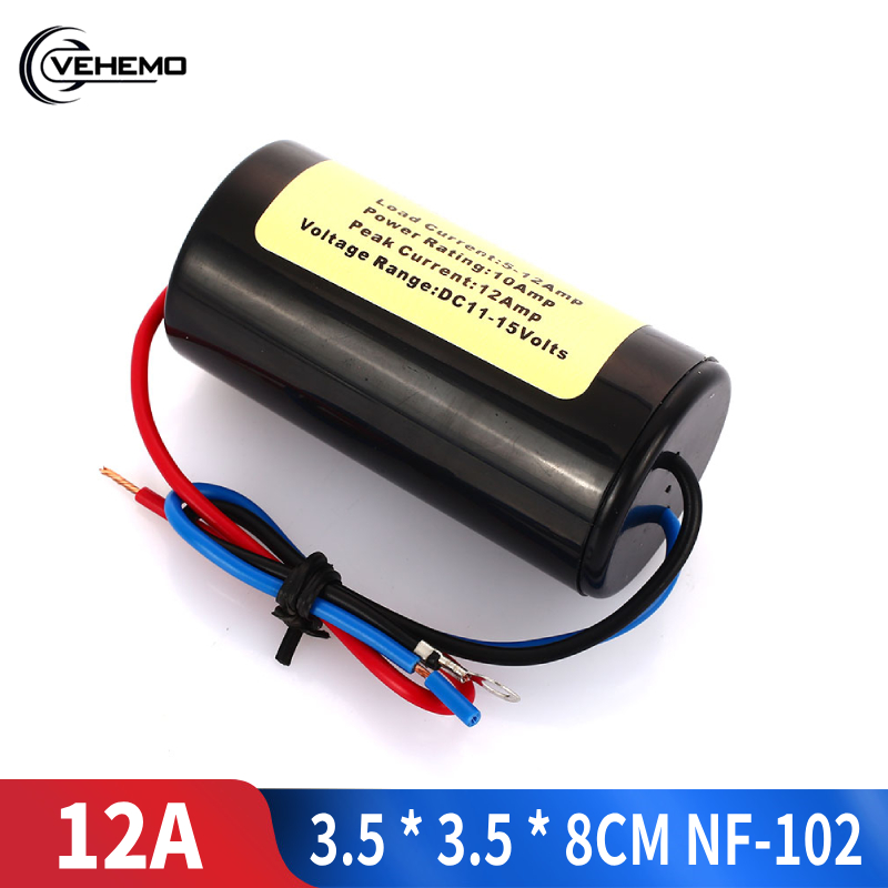 Vehemo NF-102 Rca Jack <font><b>Audio</b></font> Noise <font><b>Filter</b></font> <font><b>Car</b></font> <font><b>Audio</b></font> Installation Noise Suppressor Killer Noise Suppressor <font><b>Filter</b></font> Durable image